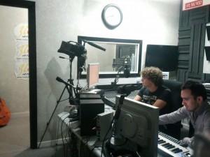 Scoppiati At Work in studio
