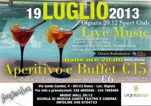 Flyer Olgiata pool party