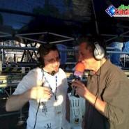 Gazebo nello Stand della Radio