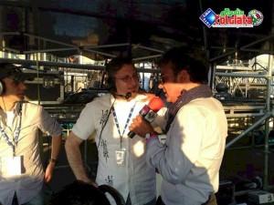 Marcello Cirillo nello Stand della radio