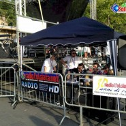 Lo stand della Radio